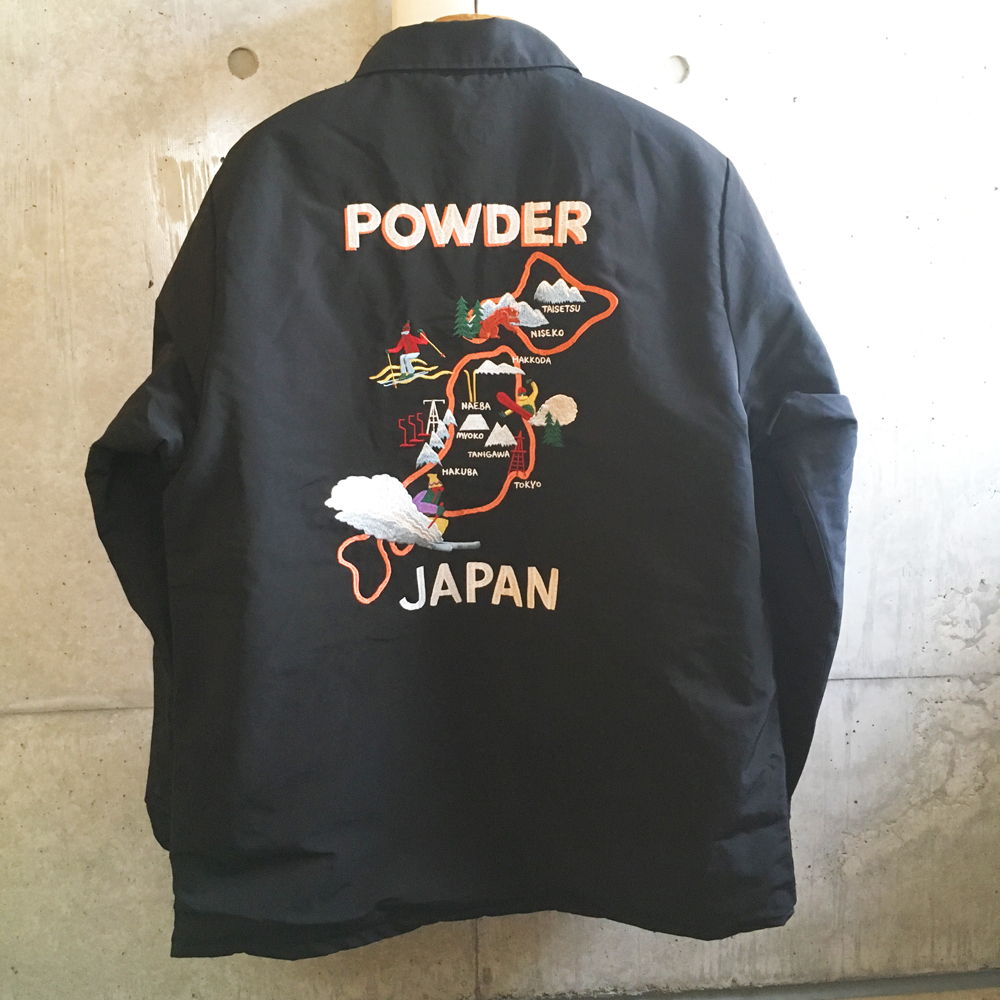 変更!「POWDER JAPAN COAT」